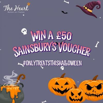 🎃 WIN A £50 @sainsburys VOUCHER 🎃 ⠀ ⠀ We are giving away a £50 Sainsbury's voucher to one lucky follower - here's how to enter.⠀ ⠀ 1. FOLLOW US⠀ 2. SHARE THIS POST ON YOUR STORIES⠀ 3. TAG AT LEAST 3 FRIENDS⠀ ⠀ T&Cs apply - follow our bio link for more details. Closing date is the 2nd of November, good luck. ⠀ ⠀ #competition #win #followtowin #enternow #tag #followme #heartshopping #waltononthames #surrey #tagafriend #instacomp #instawin #instadaily #sainsburys