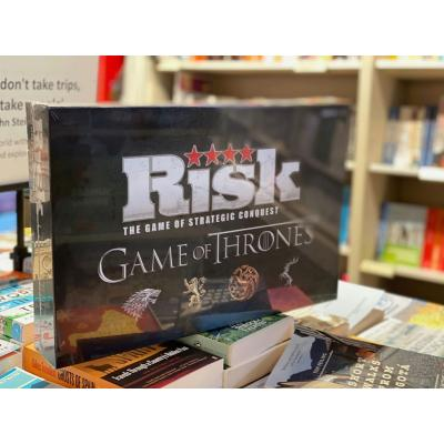 Who will conquer your household this Half Term? The ultimate board game for the competitive family, in-store now at @waterstoneswot ⠀ ⠀ ⠀ #waltononthames #risk #boardgame #family #games #gamer #halfterm #gameofthrones #waterstones #instadaily