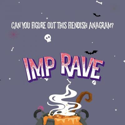 Here's day 4 of our fiendish Halloween anagram (just for fun) Guess the answer in the comments box below 👇