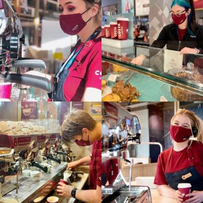The team at @CostaCoffee Walton-on-Thames cannot wait to welcome you back in-store for your coffee. But for now, they're creating delicious coffees, frostinos and more for you to enjoy as a takeaway! ⠀ ⠀ #costacoffee #costawalton #costa #waltononthames #walton #waltonsurrey #coffee #takeaway #instadaily