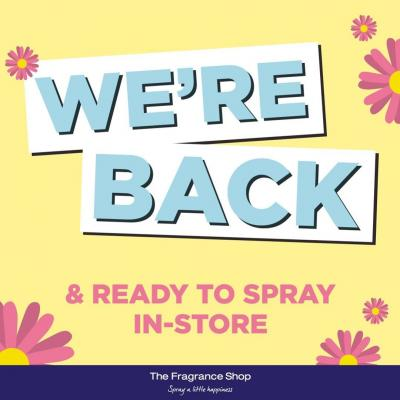 A huge WELCOME BACK to the team at @fragranceshopuk Walton-on-Thames who are back in-store ready to spray you with this season's must-have fragrances 💕⠀ ⠀ View store details 👉 https://buff.ly/36Uqk5t⠀ ⠀ #waltononthames #shopping #welcomeback #fragranceshop #fragrance #walton #surrey #waltonsurrey #community #reopen #nowopen #heartshopping #mondaymotivation #instadaily
