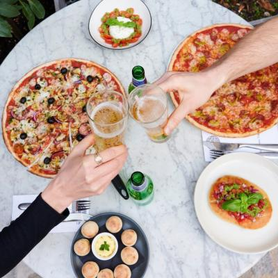The wait is almost over. Come rain or shine you can dine in with @PizzaExpress from Monday - Thank you, Boris! 🙏 🍕⠀ ⠀ #waltononthames #heartshopping #pizza #dinein #food #foodie  #instadaily