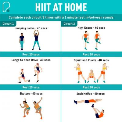 Get set for the week ahead with this HIIT at-home workout from PureGym Walton ⠀ ⠀ #puregym #waltononthames #walton #surrey #workout #hiit #motivation #tuesday #fitnessathome #fitness #keepfit #exercise #instadaily