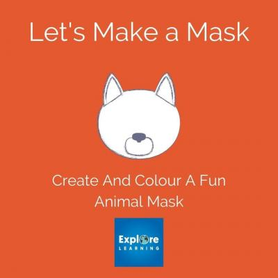 @ExploreLearning has put together some fun masks that little ones can colour and create really easily. Use our bio link to download them from our site.⠀ ⠀ #waltononthames #surrey #crafts #masks #fun #kids #creative #create #design #free #explorelearning #download #activities #instadaily