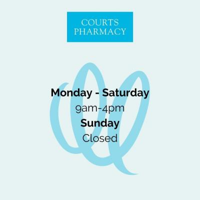 Trip to the pharmacy needed? Here are the latest opening times for Courts Pharmacy in Walton-on-Thames.
