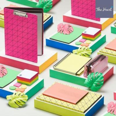 Stay bold and bright with @FromPaperchase and their neon 3 for 2 offer on stationery! ✏️ ✒️ 📒⠀ ⠀ #Paperchase #Stationery #Neon